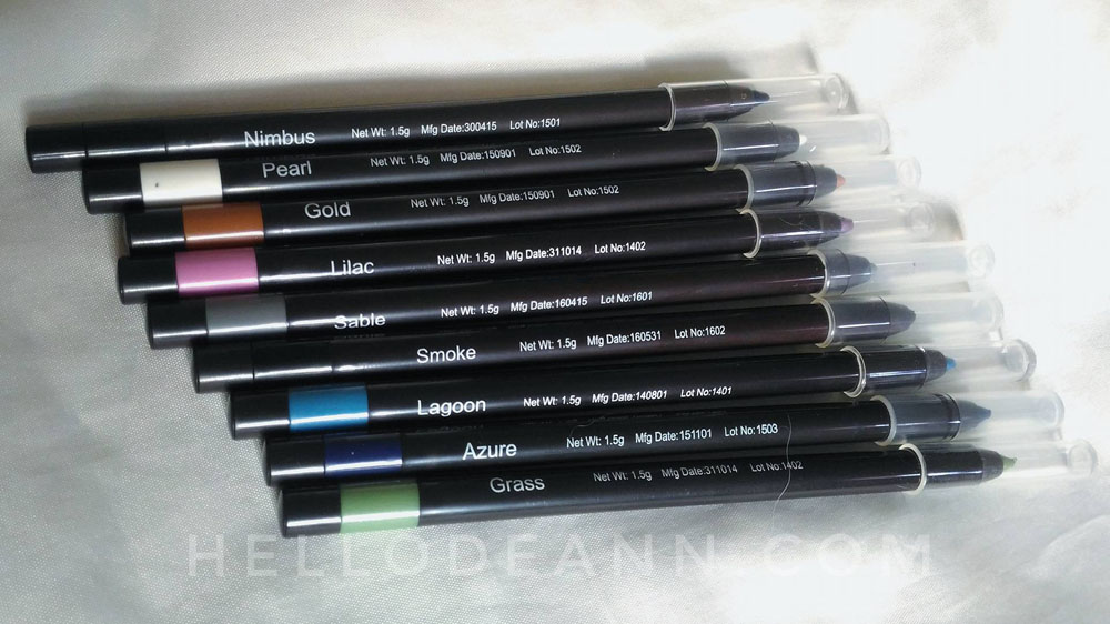 Fashion 21 Twist Eye Pencil Review Shades - Hello Deann