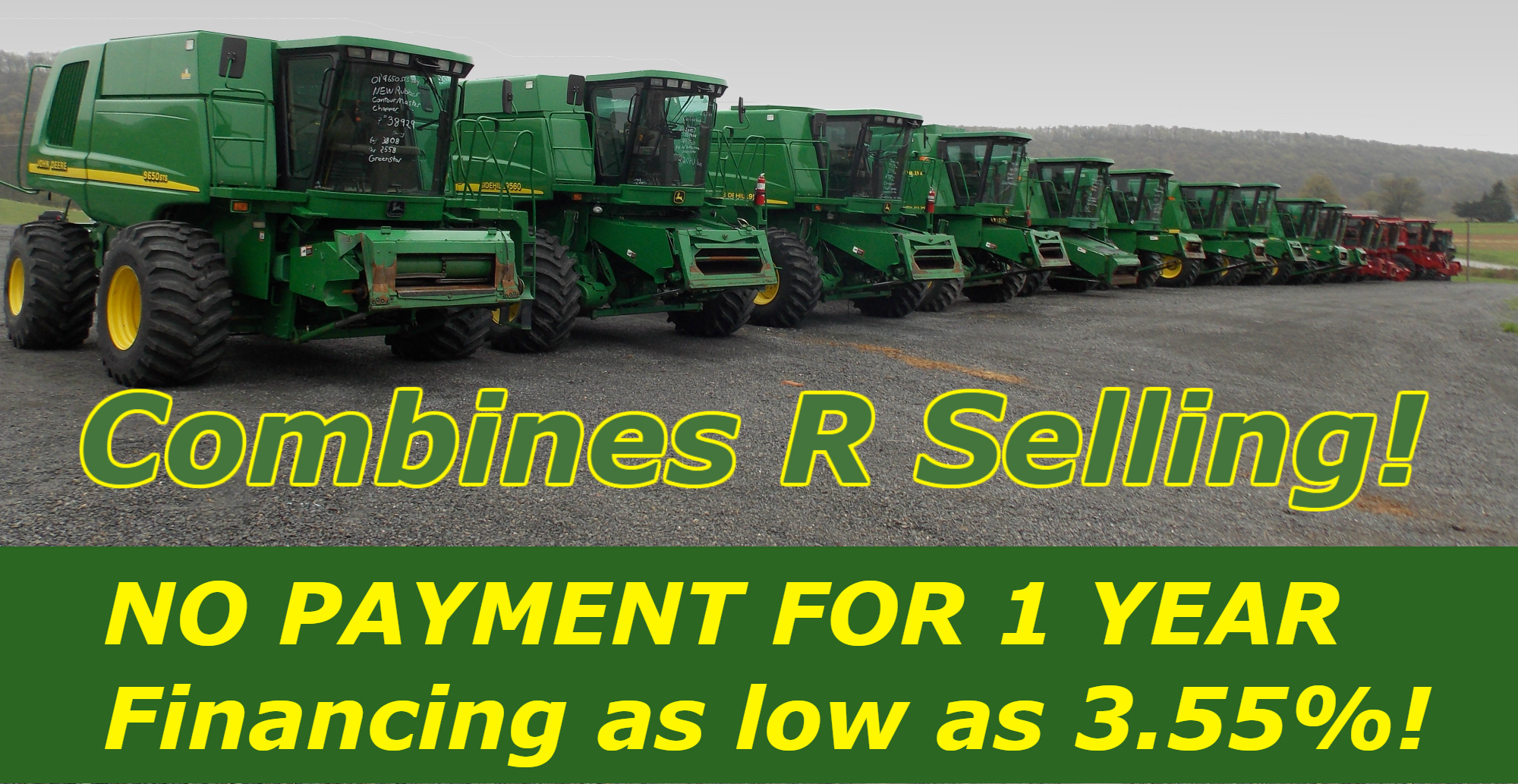 John Deere Used Combine for sale