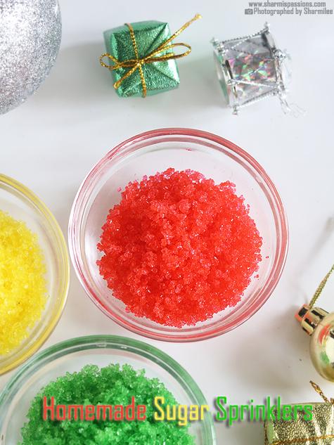 Homemade Sugar Sprinkles