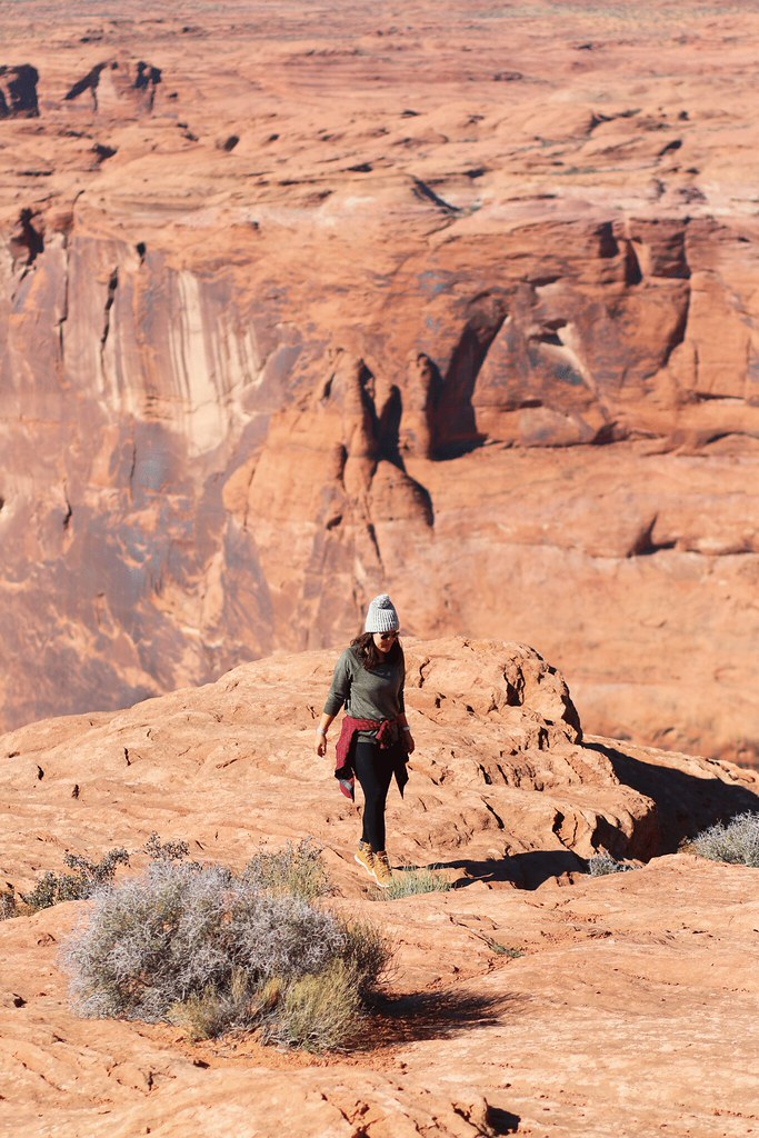 simplyxclassic, travel to grand canyon, horseshoe bend, uniqlo, travel, blogger