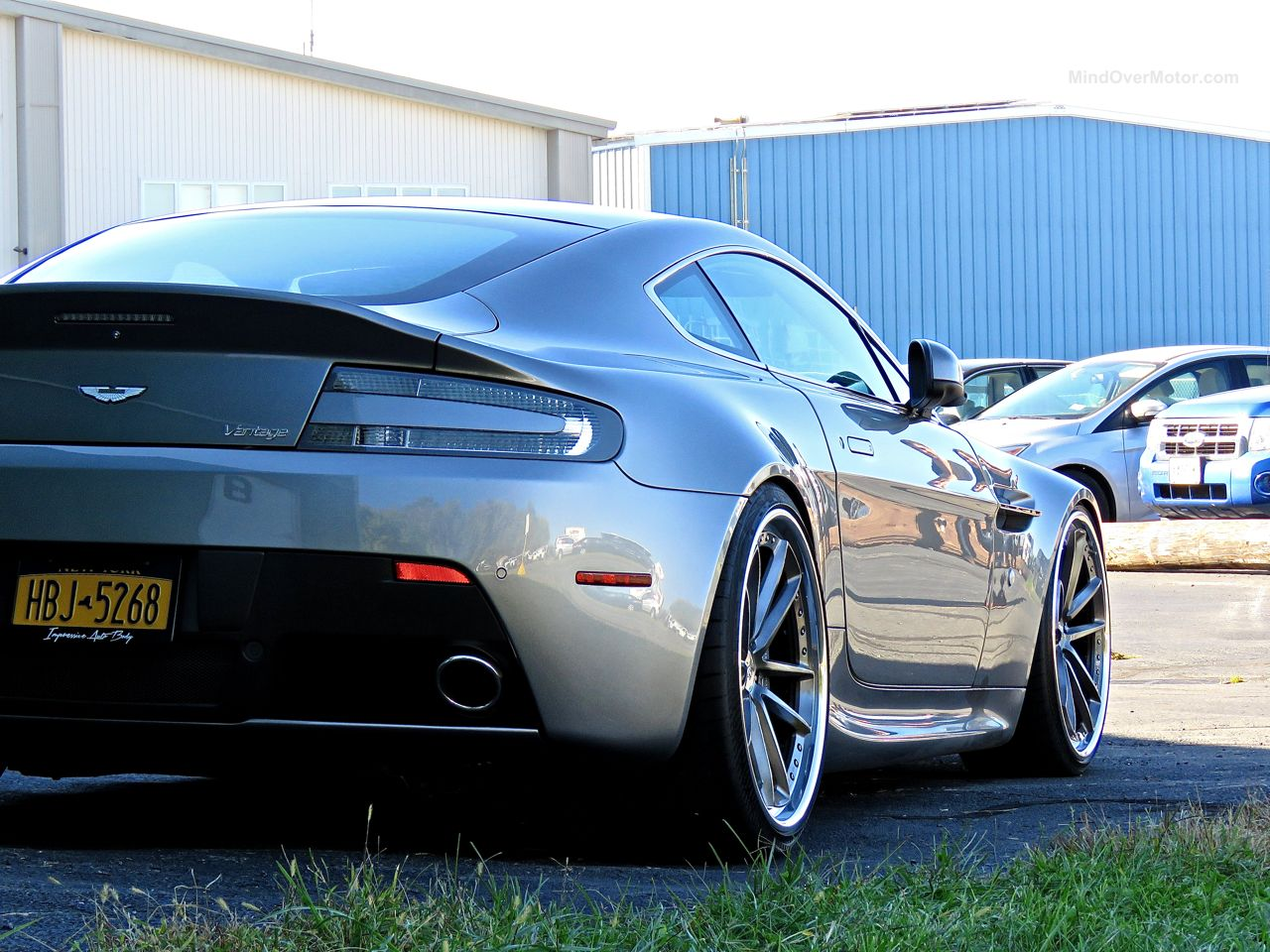 First Class Fitment Aston Martin Vantage