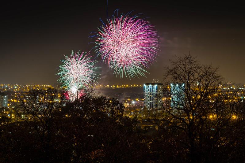 Glasgow Fireworks 2016