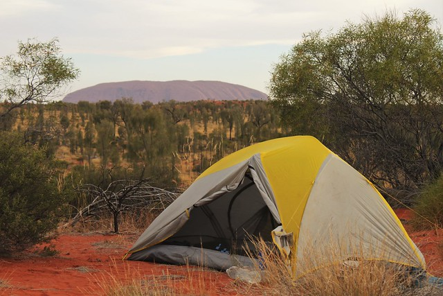 tent and ayres rock