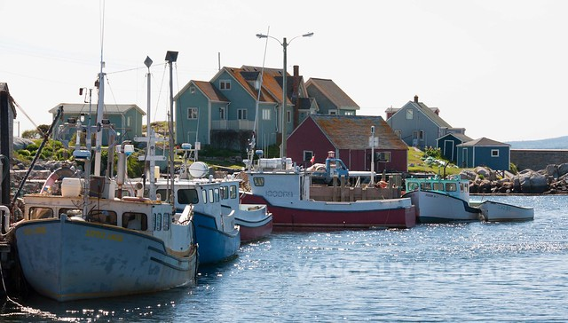 Peggy's Cove village