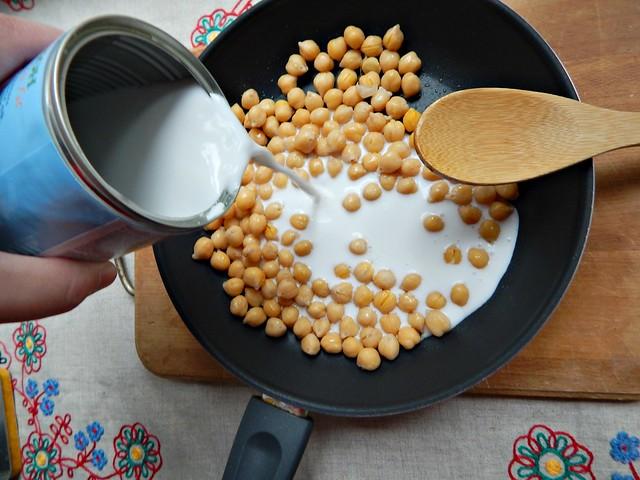Нут с кокосовым молоком и карри. Пошаговый фоторецепт. | HoroshoGromko.ru