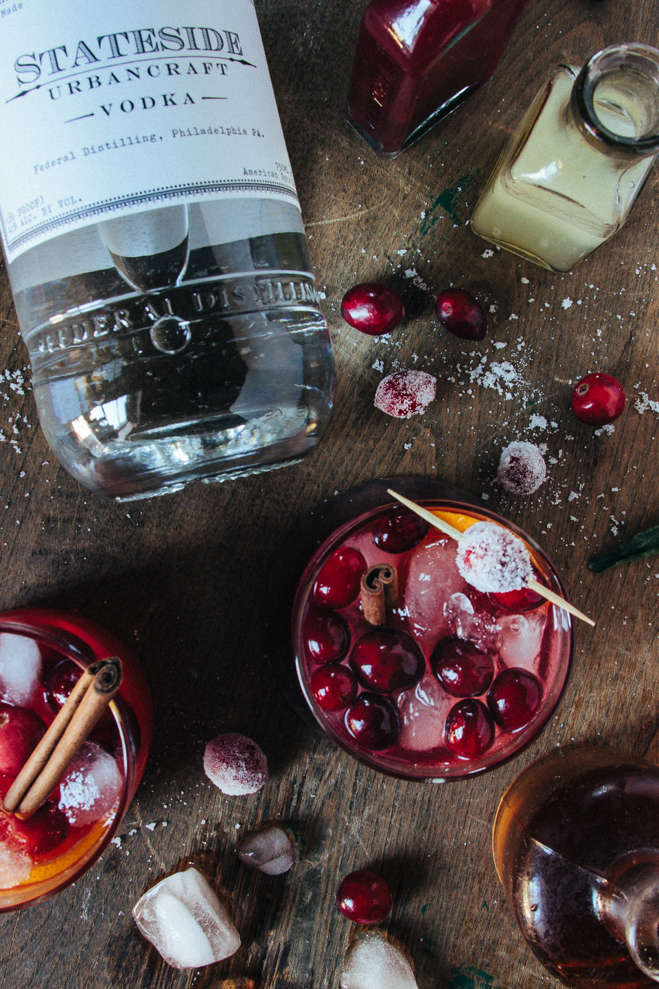 Bark + Bite (Cranberry Cocktail)