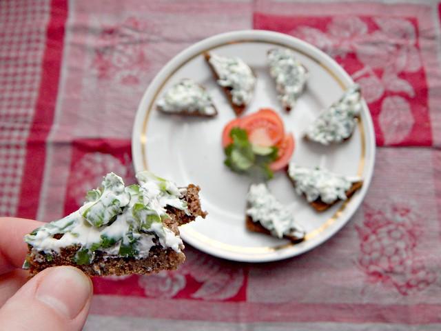 Готовим по Книге о вкусной и здоровой пище. Бутерброды с овощами. | HoroshoGromko.ru