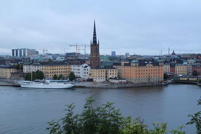 Stockholm shoreline