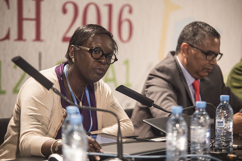 COP22 : Side event with Yacine FAL