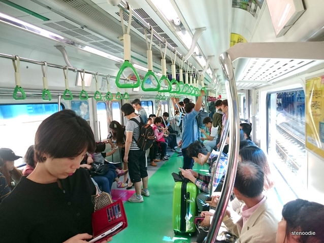 Seoul metro subway
