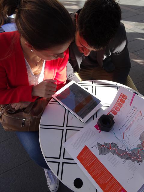 Métro Ligne 3 - débat mobile- Square Général de Gaulle