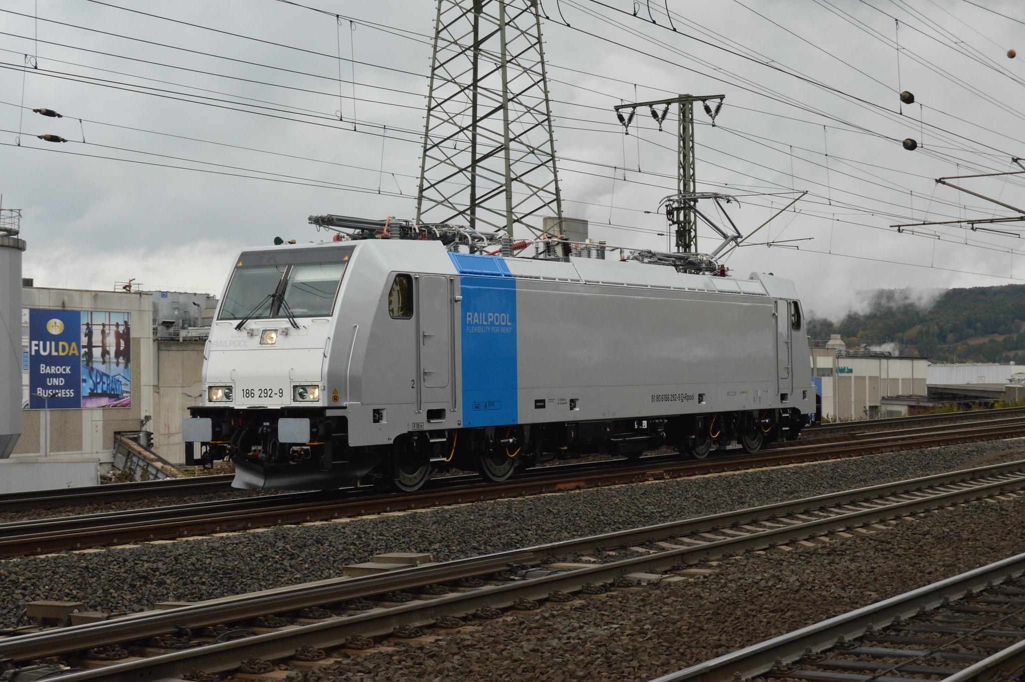 Railpool 186 292  Fulda