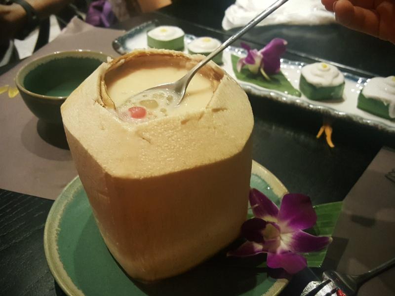 Coconut Sago dessert