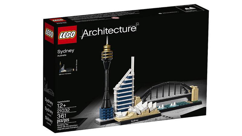 LEGO Architecture 2017 - Sydney (21032)
