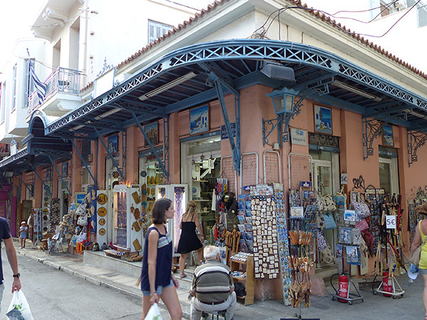 magazines pour touristes Plaka
