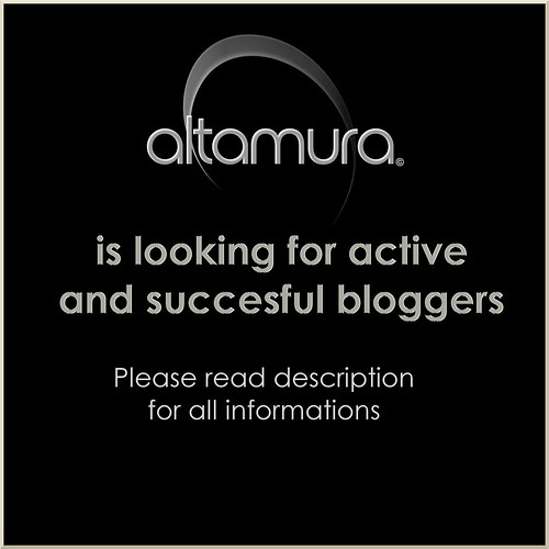 Altamura is looking for bloggers