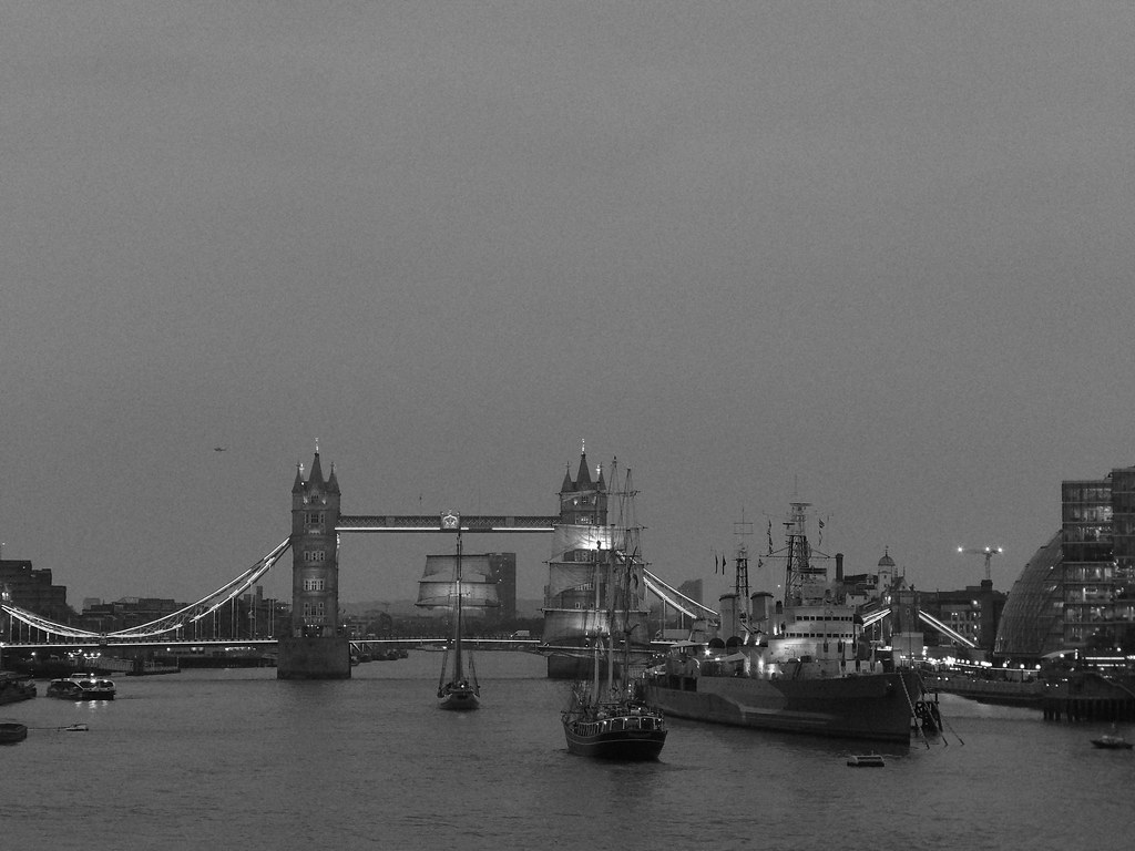 Tower Bridge from the London Bridge