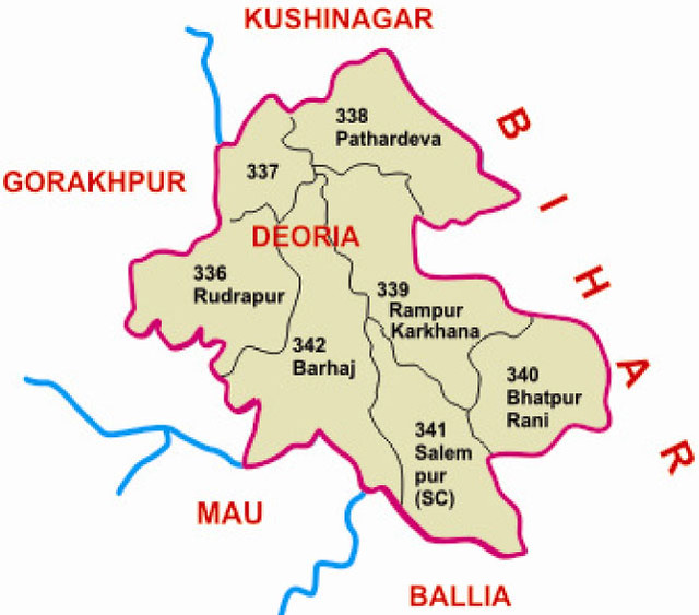 Deoria district Uttar Pradesh Election 2017