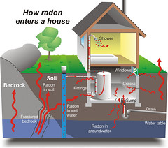 Mechanisms of Radon Entry