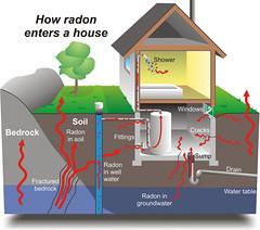 Mechanisms of Radon Entry
