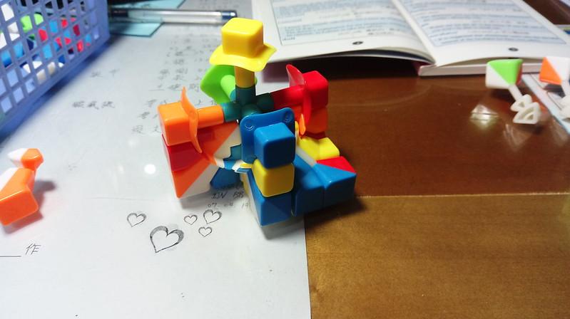 五階魔方組裝教學5
