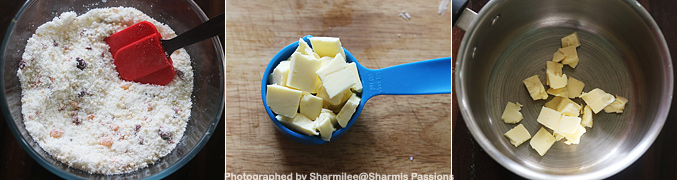 How to make White Christmas Slice Recipe - Step3