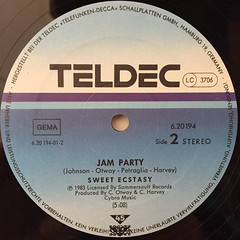 SWEET ECSTASY:PULL OUR LOVE TOGETHER(LABEL SIDE-B)