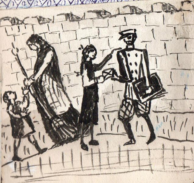 « Los Morla. Diarios y Dibujos » de Wenceslao Díaz Navarrete, Carmen Morla Lynch y Ximena Morla Lynch. Santa Rosa de Apoquindo Casa-Museo.