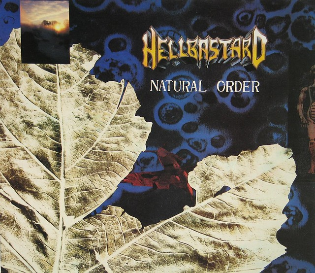 "HELLBASTARD - NATURAL ORDER + LYRICS SHEET 12"" vinyl LP"