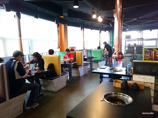 Loco Quan 401 Restaurant interior