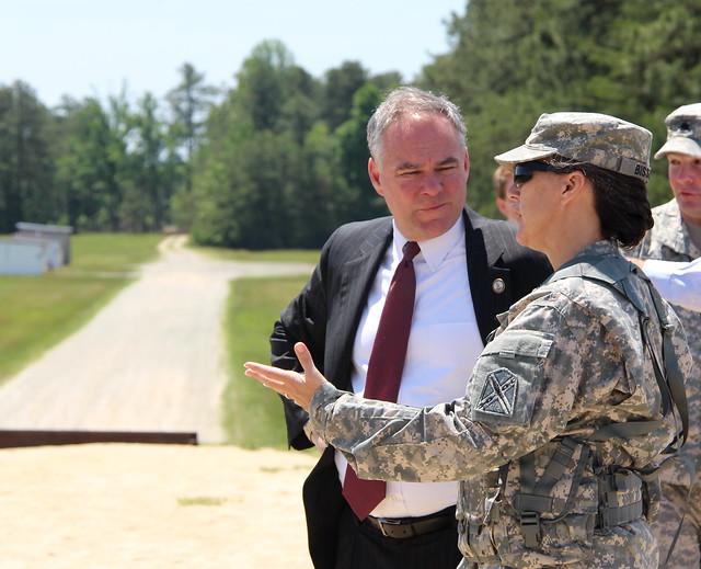 Senator visits Va. Guard Soldiers during Annual Training