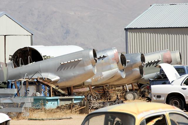 P-40 film props