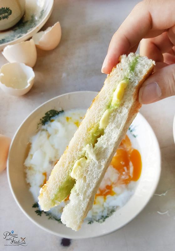 kajang chop tong sing roti bakar