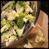 #Cavatelli #RomanescoCauliflower #Chicken #homemade #CucinaDelloZio - add the #Romanesco