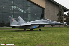 Blue 23 - - Russian Air Force - Mikoyan-Gurevich MiG-29S - Evergreen Air and Space Museum - McMinnville, Oregon - 131026 - Steven Gray - IMG_9063