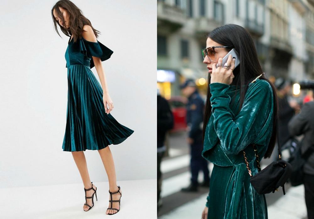 Velvet dress1