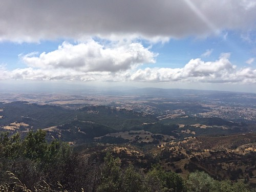 The view from Mt. Diablo
