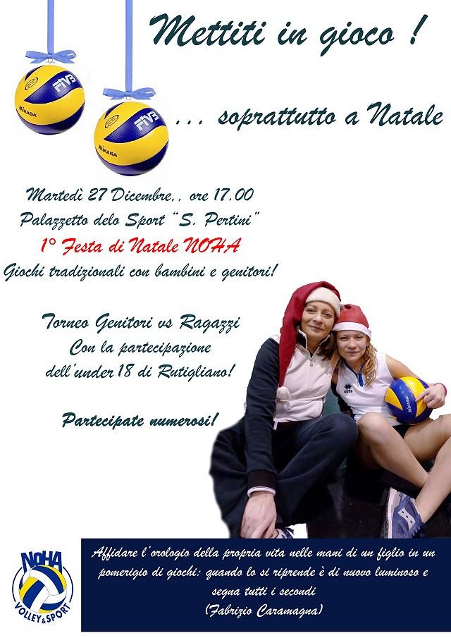 Noicattaro. Festa Noha Volley intero