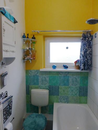 Badezimmer neu renoviert