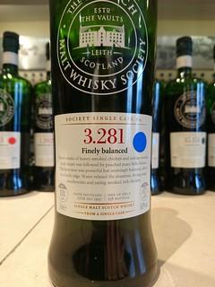 SMWS 3.281 - Finely balanced