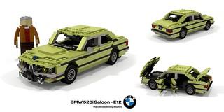 1972 BMW E12 520i Saloon