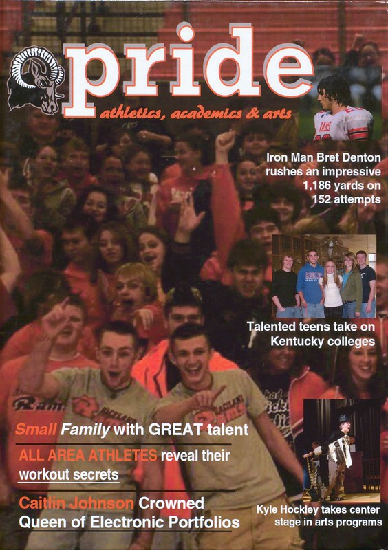 2008 Raceland High School Yearbook