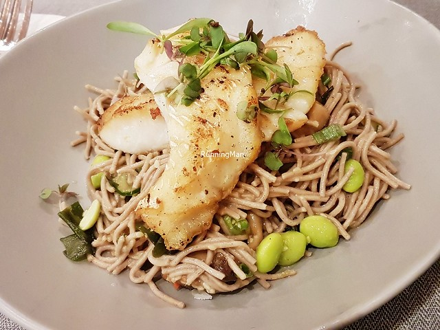 Roasted Cod & Soba Noodle Salad