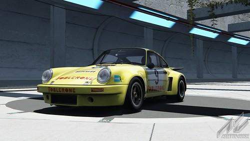 Porsche 911 Carrera RSR - Porsche Club Romand - Claude Haldi - 1975