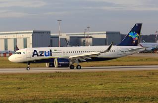 A320-251N, Azul Linhas Aereas, F-WWBI, PR-YRC (MSN 7291)