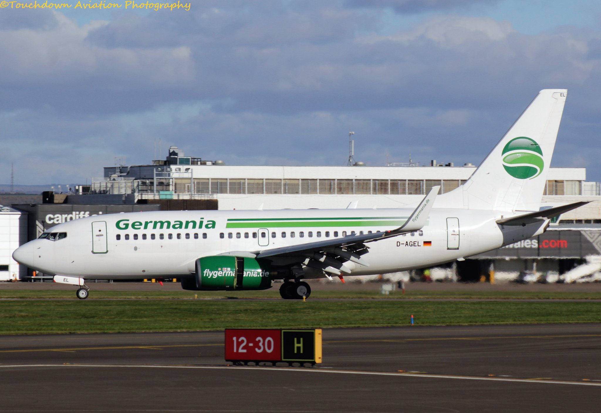 Germania Boeing B737-700 D-AGEL 06NOV16
