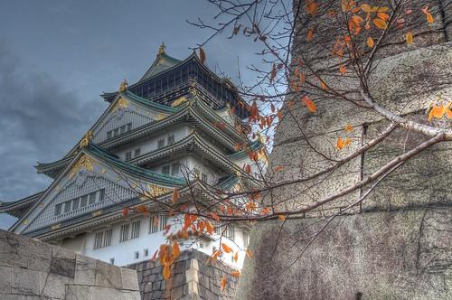 Osaka Castle on DEC 01, 2016 vol01 (3)