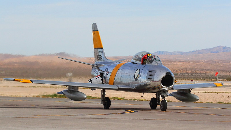 IMG_4603 F-86 Sabre, Nellis AFB Airshow