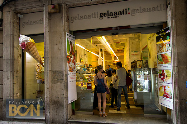 melhores sorveterias de Barcelona: Gelaaati di Marco