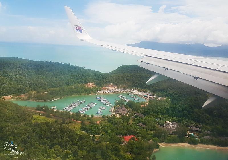 langkawi flying with mas